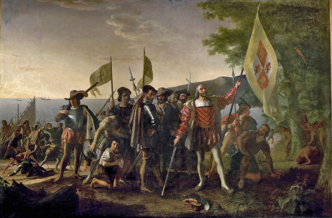 """Selecciones de """"Carta a Luis de Santángel"""" por Cristóbal Colón (1493)"""