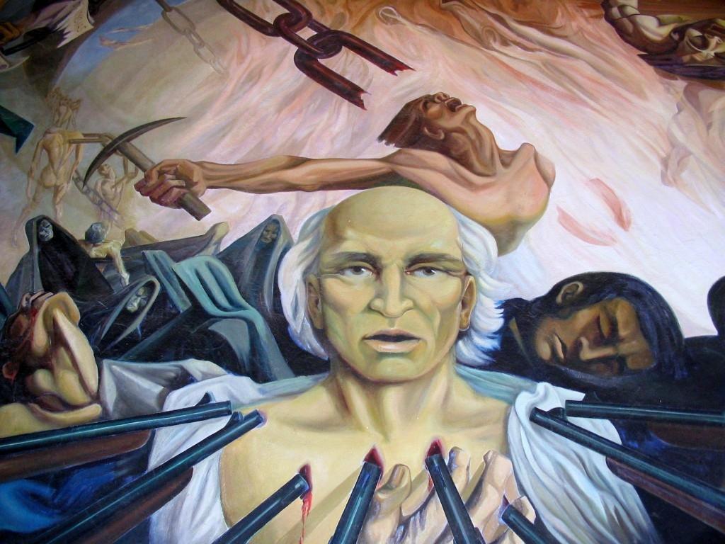 """""""El grito de la libertad en el pueblo de Dolores"""" (1825)"""