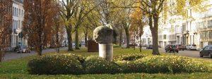 Monument to colonial pioneers, Mechelen/Malines, Belgium