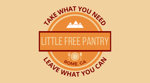 Rome Little Free Pantry