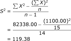 Exceptional The Standard Deviation Of A Sample Is Equal To The Square Root Of The  Variance. In Our Case, The Sample Standard Deviation Would Be: