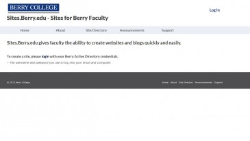 Sites.Berry.edu